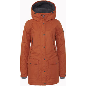 Varg Åre Eco Parka Jacket Women, rust orange